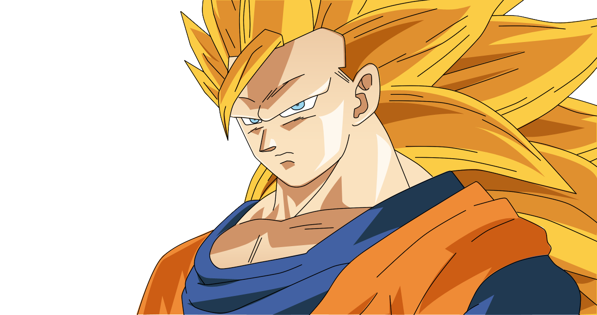Son Goku Super Saiyan 3 By Ominouscucumber On DeviantArt