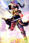 Sun Ce with Tonfa-Sabers