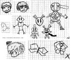 Random drawing Mascot
