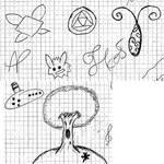 Random drawing Icon Zelda