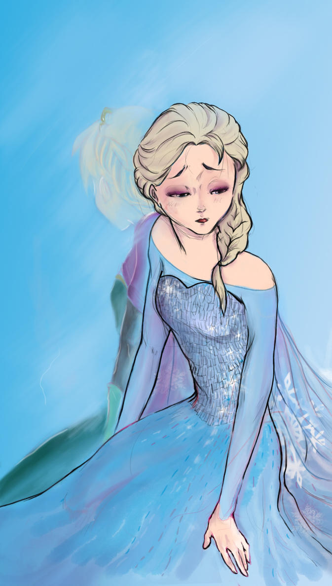 Frozen: Don't let them see by kimagattinanera