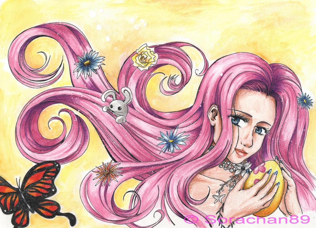 Fluttershy - Happy Easter by Hanatsuki89