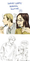 Survey Corps' Morning routine
