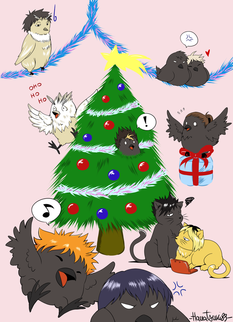Merry HQ Christmas by Hanatsuki89