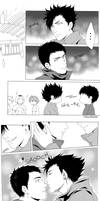 Kurodai - Nose kiss by Hanatsuki89