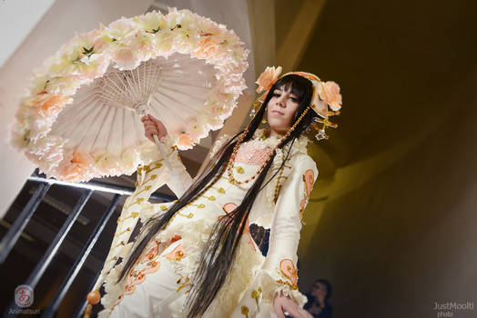 Rose Umbrella [Alice, Scissors Crown]