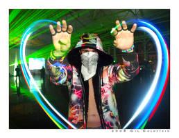Conjurer Of Love by mindbodygraphics