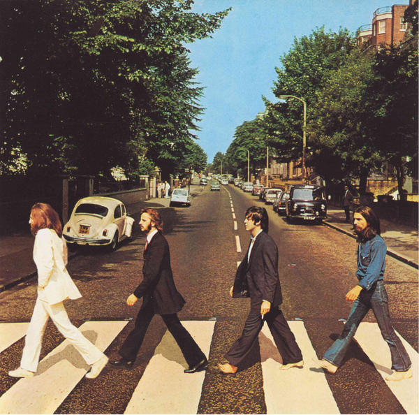Abbey Road backwards by deadlyroutines