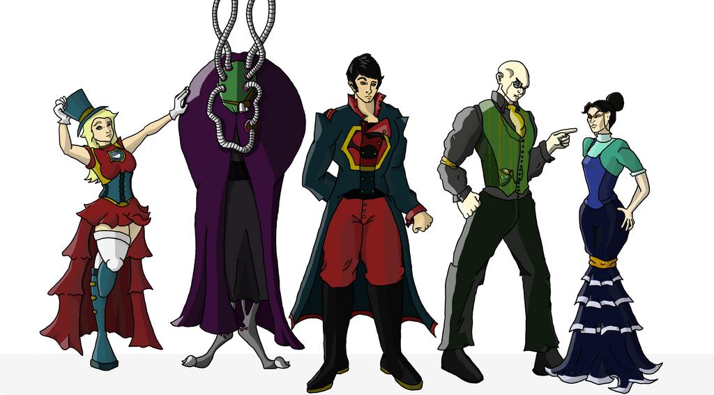 Victorian Superman Crew By THUNDRkitty On DeviantArt