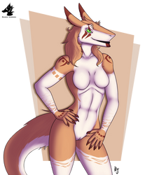 Cali, The Southern Sergal by Dragon-Rage2
