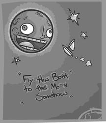 Fly this boat to the Moon