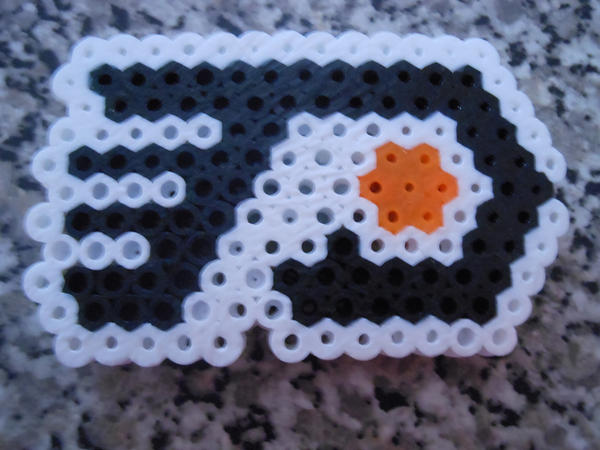 Flyers logo made of perler beads by crazydeadbunny