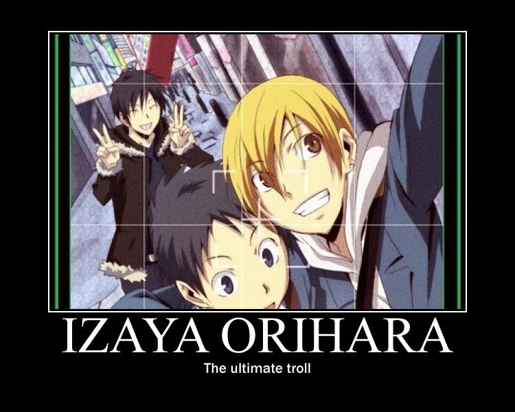 52 best Izaya Orihara images on Pinterest | Durarara, Anime guys ...