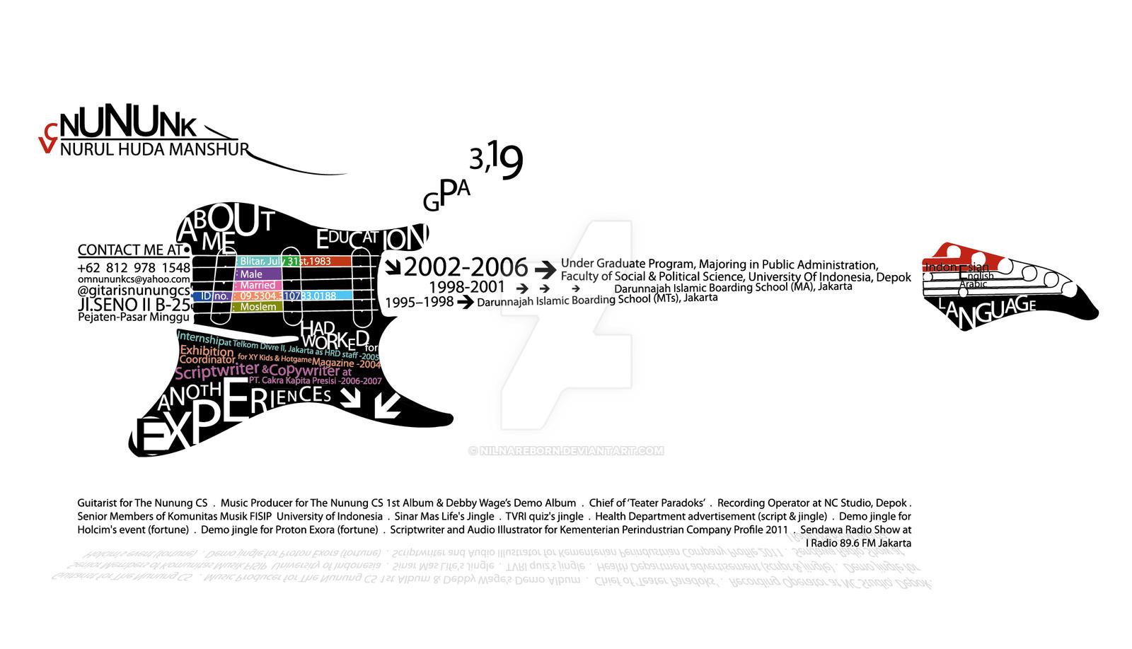creative musician 39 s cv by nilnareborn on deviantart