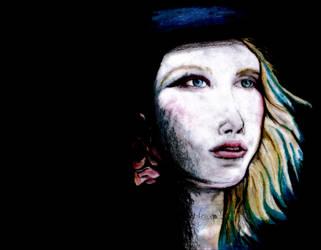 lady blue by nospy17