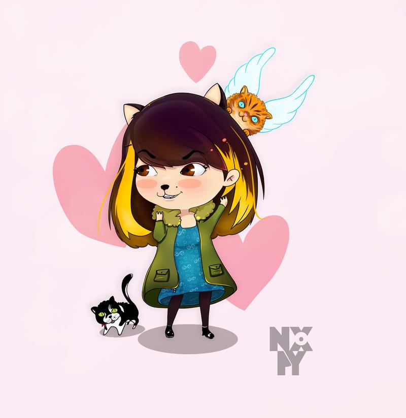 Cat-tiana by nospy17
