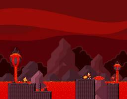 SMW - Fire Kingdom