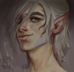 The young Zevran