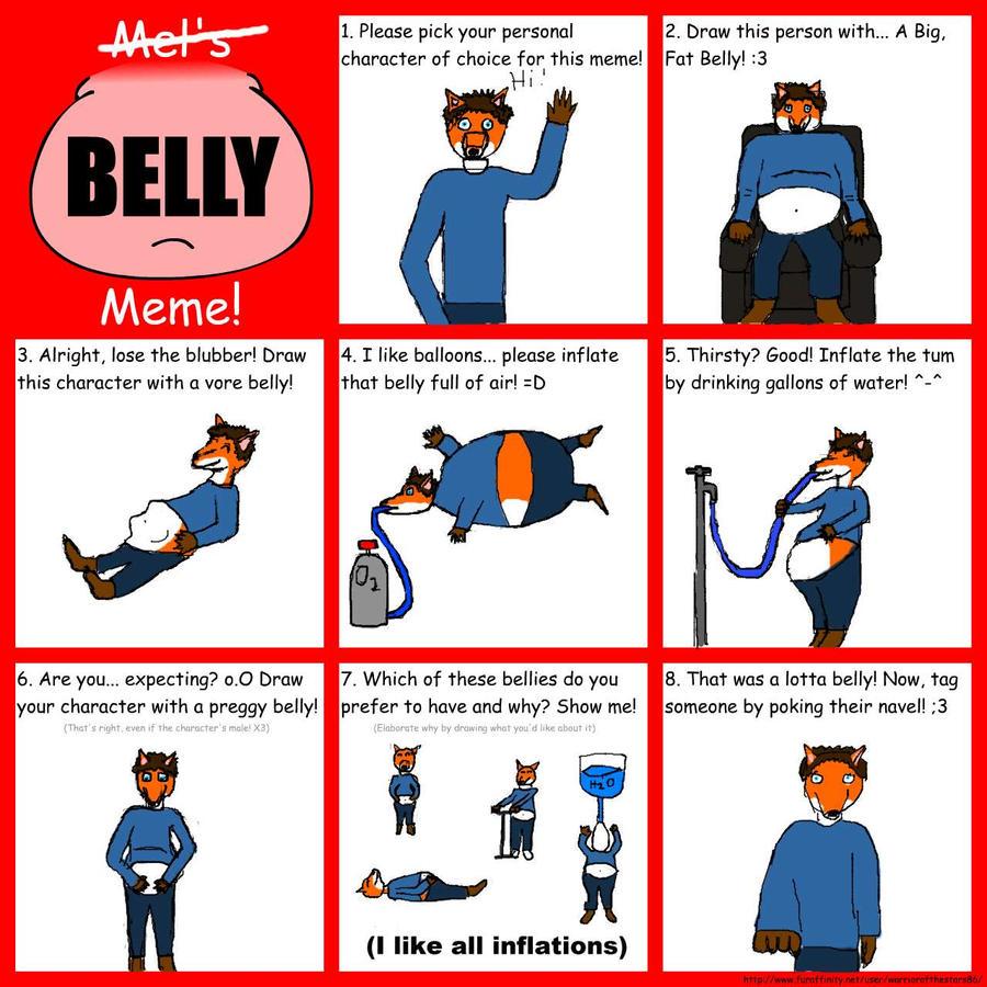 Belly meme