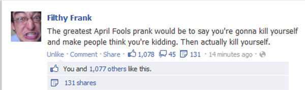 can i do this next april fools day