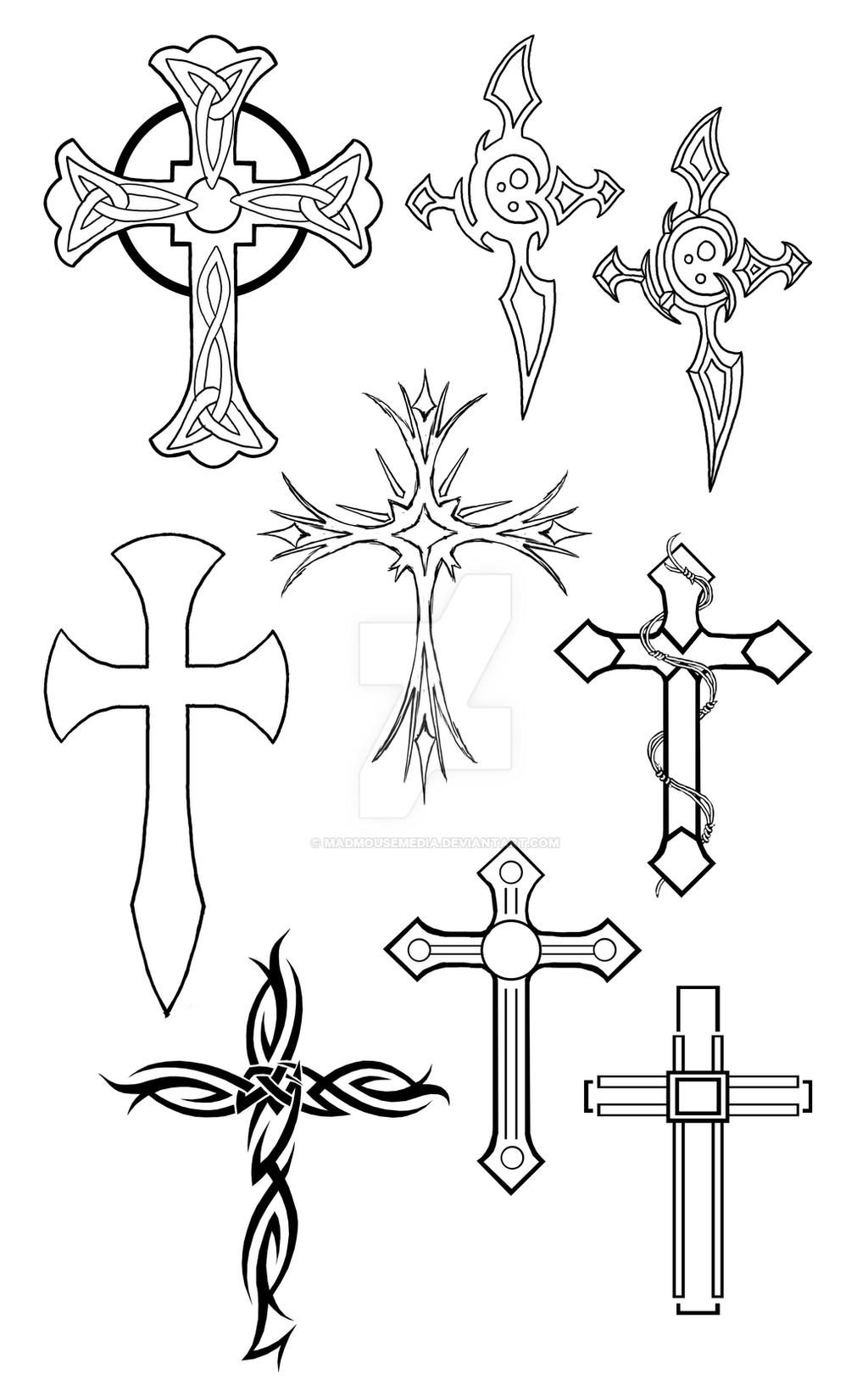 Cross Tattoo Wrist Designs