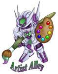 Gundam Badge by MadMouseMedia