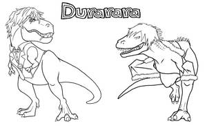 JurassicWorld Shizuo Vs Izaya