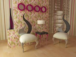 2 chairs project by aspa1984