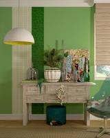 Green Room by aspa1984