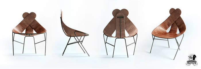 LL Chair by brainbox factory