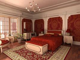 hotel room by aspa1984