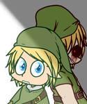 Link and Ben chibi