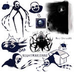 Nightmarionne doodles