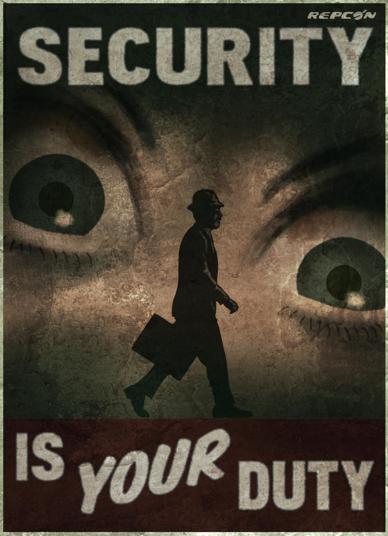 Fallout new vegas security poster by thespartanofauburn for 3 by 3 prints