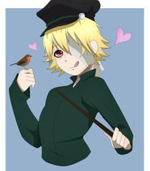 [Kuroshitsuji OC] Magic bird by CrimWitch