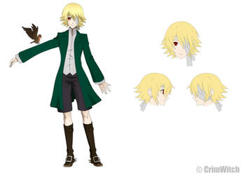 [Kuroshitsuji OC] Robin ref. by CrimWitch