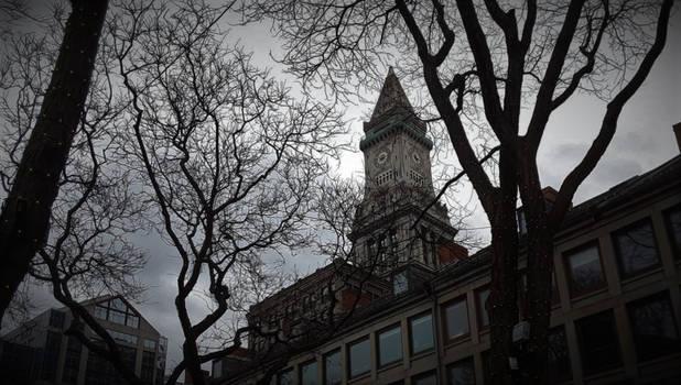 Custom Clock Tower in Boston Massachusetts 2018