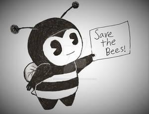 BATIM: Smol Bendy dressed as a Bumblebee