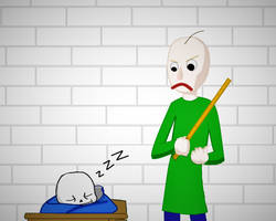 Sans in Baldi's Basics in Education and Learning