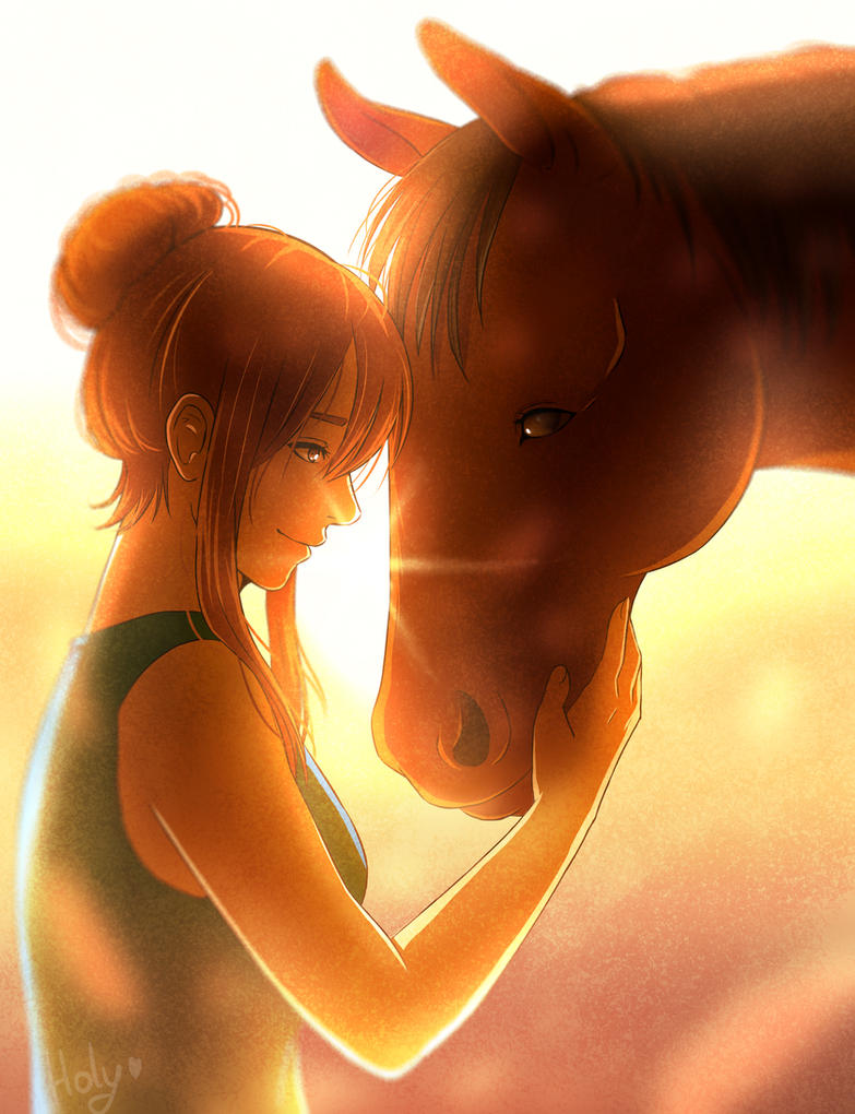 Love Horse by LC-Holy