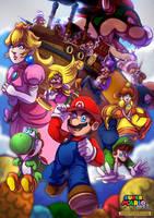 Super Mario Bros. Team Adventure by LC-Holy
