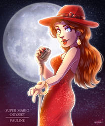 Super Mario Odyssey - Pauline by LC-Holy