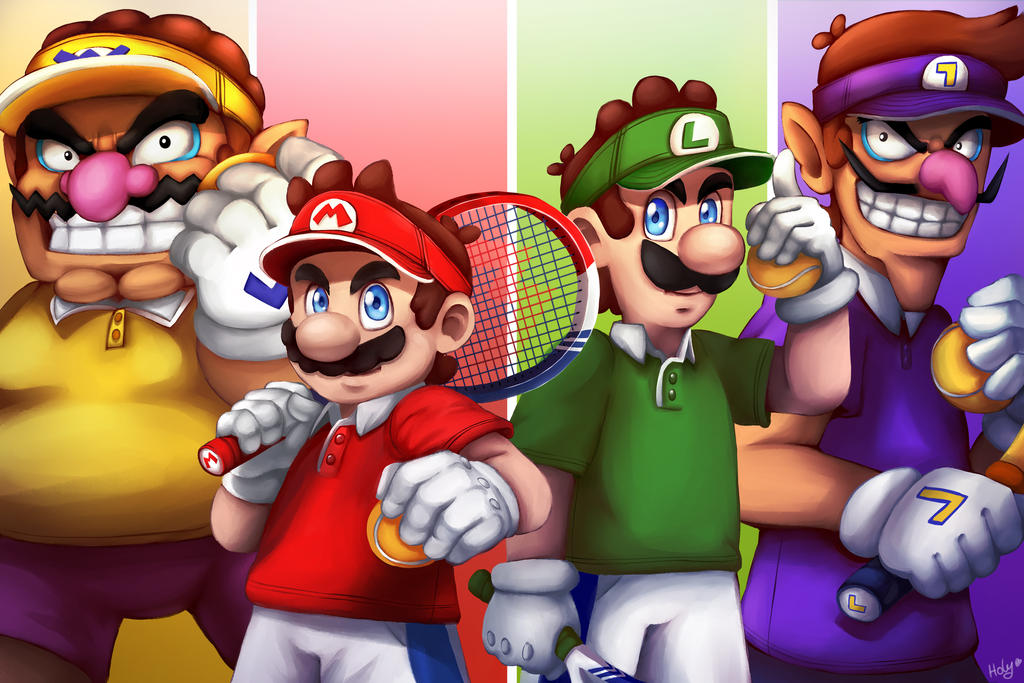 Mario Tennis Aces By Lc Holy On Deviantart