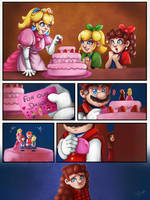 Mario Bros Legacy #5  The cake is not a lie by LC-Holy