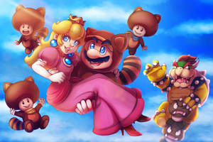 Super Mario 3D land - Credits by LC-Holy