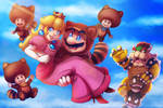 Super Mario 3D land - Credits