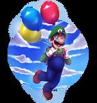 Luigi's Balloon World - Super Mario Odyssey