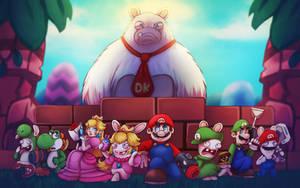 Mario + Rabbids kingdom battle by LC-Holy