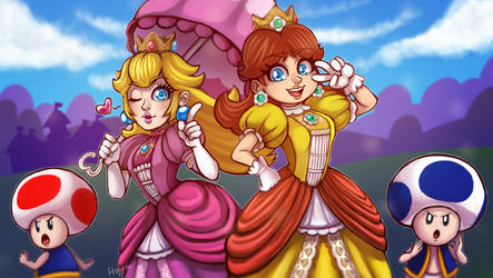 Royal Besties in smash by LC-Holy