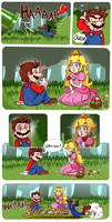 The -first- meeting - Super Mario's Stories Part 1 by LC-Holy